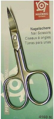 Pfeilring 4160N Nail Scissors Nickel-Plated 90mm - Made in Germany
