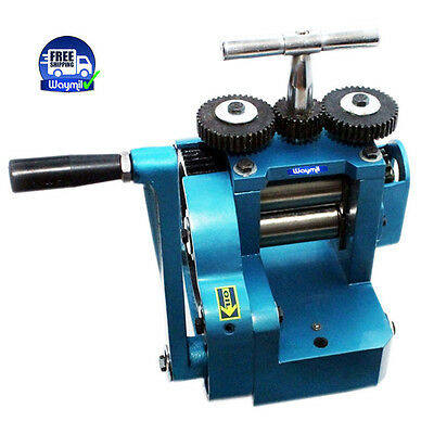 ROLLING MILL FLAT 80 mm ROLLERS SHEET METAL JEWELERS AND METALSMITHS