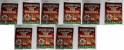 (10)Pairs Toe Warmers Hand Foot Warmer Hot Heat Works 5 Hrs Pocket Heater 20