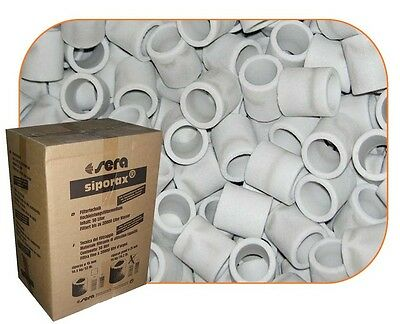 SIPORAX POND BIO RINGS 25mm FOR MARINE TANK, POND, SUMPS BIOLOGICAL FILTER MEDIA