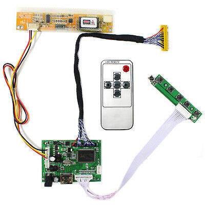 """HDMI LCD Controller Board  work for 17"""" LP171WP4 LP171WX2 1440x900 lcd panel"""