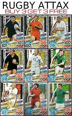 Rugby Attax 100 Club And Golden Legends And Motm World Cup 2015 Union Lomu