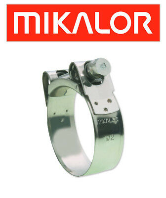 Honda GL1000 Z Goldwing  GL2 1979 Mikalor Stainless Exhaust Clamp (EXC475)