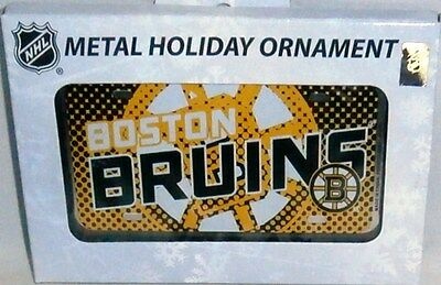BOSTON BRUINS  Metal Holiday Ornament by Forever Collectables