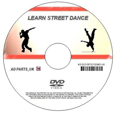 Learn Street Dance / Hip Hop Beginners Step By Step Guide Fitness Workout Dvd