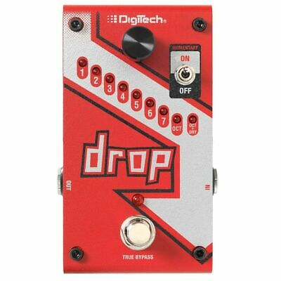 New DigiTech DROP Polyphonic Drop Tune Pitch-Shift Effects Pedal + Free Shipping