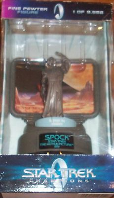 STAR TREK SPOCK Pewter Figure Limited Edition