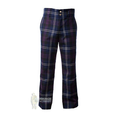 Men's Trousers - Scottish Tartan Trews - Heritage Of Scotland - Size Options!