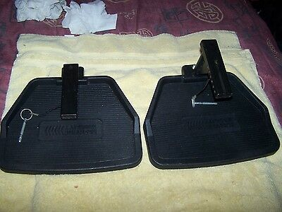 Rascal Turnabout (312) Power Wheelchair Front/rear Footrest Platforms
