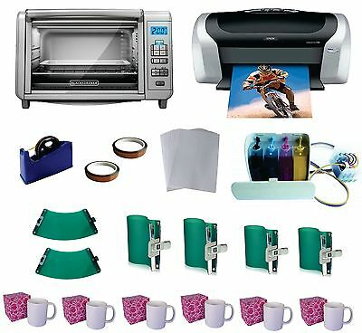 OVEN! Make Sublimation Mug with Oven Epson Printer C88 CISS KIT