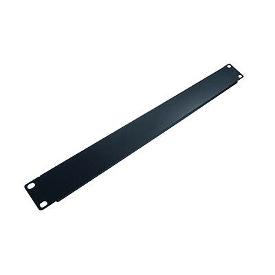 """Blank Plate 1RU Cover Universal for 19"""" Data Rack Cabinets New 2 Years Warranty"""