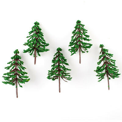50 x Winter Snow Scene Landscape Layout Model FOREST Cedar Trees