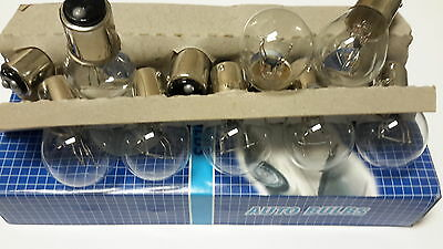 10 pcs of 1157 WHITE HALOGEN Miniature BULBS  REPLACEMENT