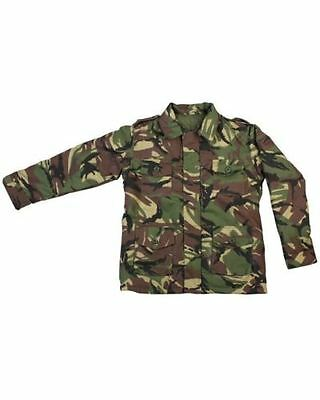 Kombat Kids Safari Jacket Dpm Cotton Ripstop Dress Up Army Play