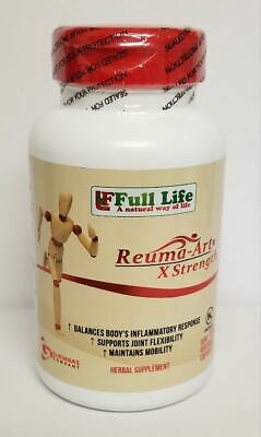 Reuma-Art X Strength 120 +4 FREE CAPS  FREE SHIP 1 DAY PROCESS TIME PAIN-RELIEF