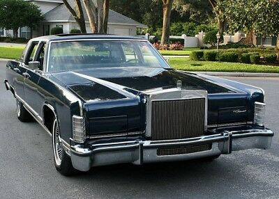 1979 Lincoln Continental Town Car, Refrigerator Magnet