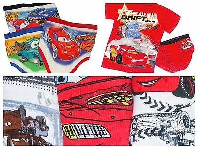 Disney Cars Toddler Boys Assorted Briefs Underwear Sets