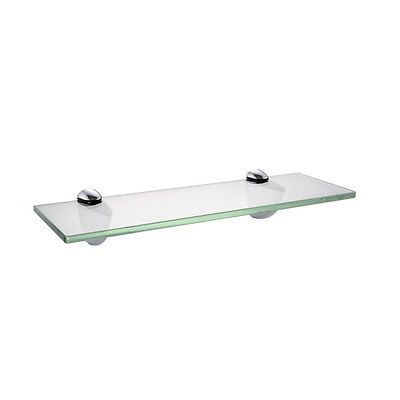 KES 14-Inch Bathroom Tempered Glass Shelf 8MM-Thick Wall Mount,BGS3200S35/-2