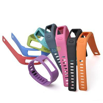 Pack of 10 Small Replacement Wrist Bands w/ Clasp for Garmin Vivofit Tracker