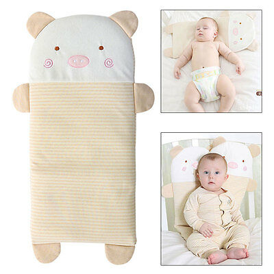Baby Infant Toddler Sleep Support Washable Long Pillow Newborn Prevent Flat Head
