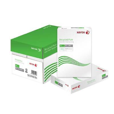 Xerox Recycled Pure A4 80Gsm Printer Paper - White - 1 Ream Or Box Of 5 Reams
