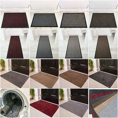 Large Small Kitchen Heavy Duty Barrier Mat Non Slip Rubber Back Washable Mats