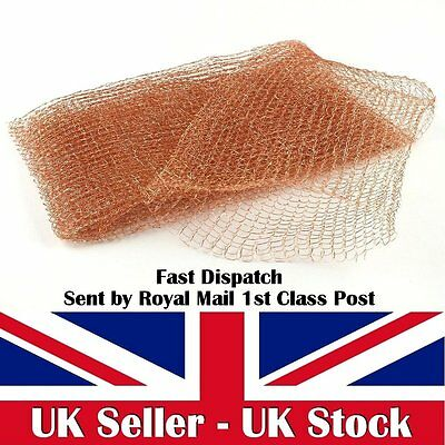 """Stuf-Fit Copper Mesh 5.5"""" Wide X 5Ft Long Pest Control Rodents Rats Mice Insects"""