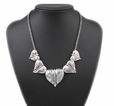 Vintage Fashion Statement Bib Chunky Collar Party Jewelry Pendant Chain Necklace