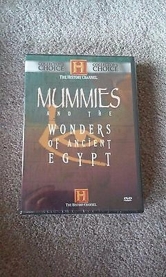 Mummies & Wonders of Ancient Egypt - History Channel - DVD - New / Sealed
