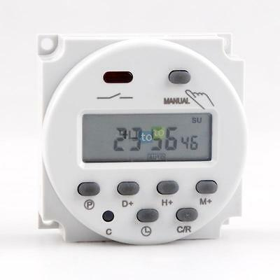 Power 110V Digital LCD Time Relay Switch Electronic Programmable Timer