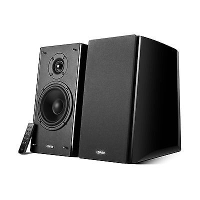 EDIFIER R2000DB 2.0 Speakers with Wireless Remote Bluetooth Dual RCA Optical