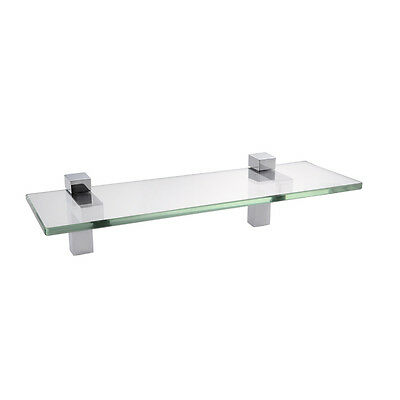 KES 14-Inch Bathroom Tempered Glass Shelf 8MM-Thick Wall Mount,BGS3201S35/-2