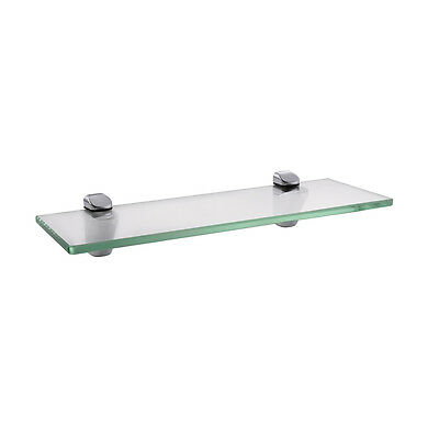 KES 14-Inch Bathroom Tempered Glass Shelf 8MM-Thick Wall Mount,BGS3202S35/-2