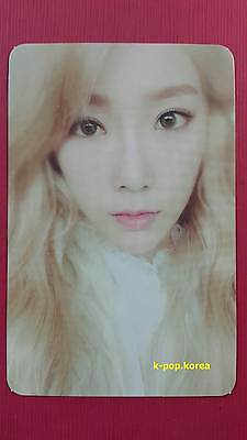 TTS TAEYEON Official PHOTOCARD RED Ver. Dear Santa TaeTiSeo Girl's Generation 태연