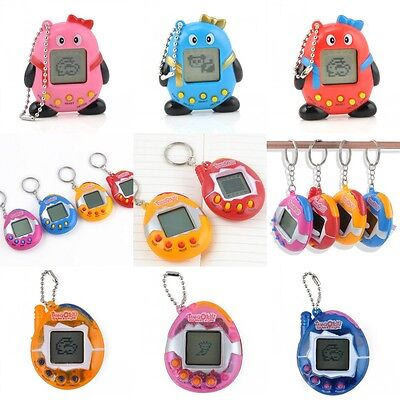 Vinatge Virtual Pet 49 In 1 Cyber Pets Animals Toy Funny Tamagotchi Kids Gift