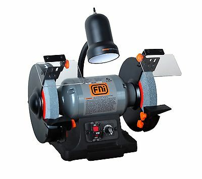 FNi Bench Grinder 550W 200mm Variable Speed