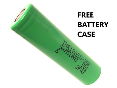 GENUINE Samsung 18650 25R 2500mAh Battery **FREE CASE**