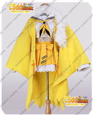 Pokemon Sun and Moon Team Skull Grunt Outfit Cosplay Costume Customized MM.2076