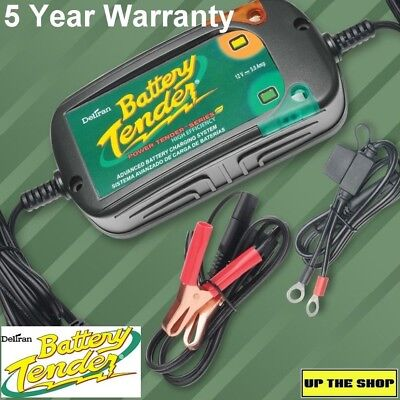 Battery Tender Power Plus 5 Amp High Efficiency Charger, quick connect, trickle