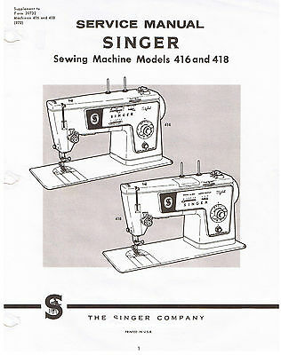 SINGER STYLIST SEWING Machine Models 40 40 Service Repair Manual Mesmerizing Singer Sewing Machine Service Manual
