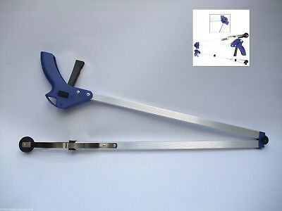 Extra Long Folding Litter Picker Reacher Grabber 1.2 metres LONG