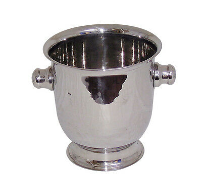 Stainless Steel Magnum Ice Bucket Wine Champagne Bucket Cooler Bar Pub 12 pint