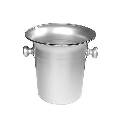 Silver Acrylic Ice Bucket Wine Champagne Cooler Beer 7 pint Bar Pub Restaurant