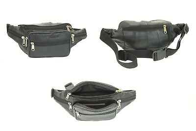 Canvas Military Fanny Pack Hip Bag Travel Zip 5 XL Waist Pouch Fit to Big & Tall