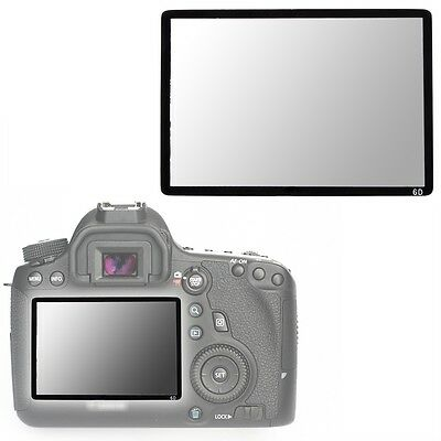 Hard Optical glass LCD Screen Protector Guard for Canon EOS 6D DSLR Camera