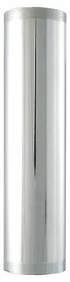 LDR 505 6210 Threaded Tube, 1-1/4-Inch x 6-Inch, Chrome Plated Brass