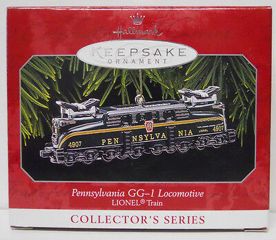 1998 Hallmark Keepsake Ornament Lionel Pennsylvania GG-1 Locomotive-QX6346