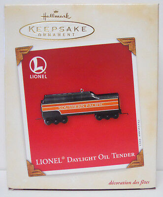 2003 Hallmark Keepsake Ornament Lionel Daylight Oil Tender-QXI8249