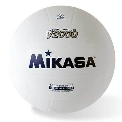 MIKASA V2000 Volleyball Premium Rubber Indoor/Outdoor Official Size