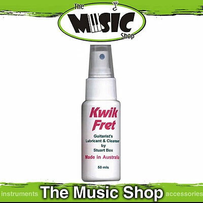New Kwik Fret - Guitar String Lubricant/Cleaner with Eucalyptus 50ml - KF1